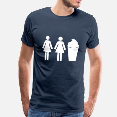 2 Girls 1 Cup 2 girls 1 cup - T-shirt Premium Homme