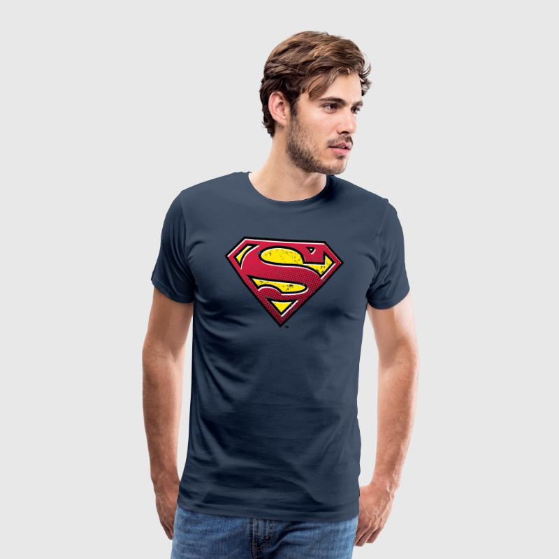 Superman Logo Men Hoodie - Mannen Premium T-shirt