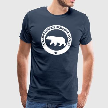 California's Pacific Coast - Männer Premium T-Shirt
