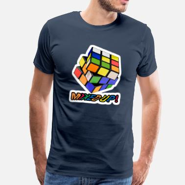 Rubiks Cube Kids Rubik's Mixed Up! - Men's Premium T-Shirt