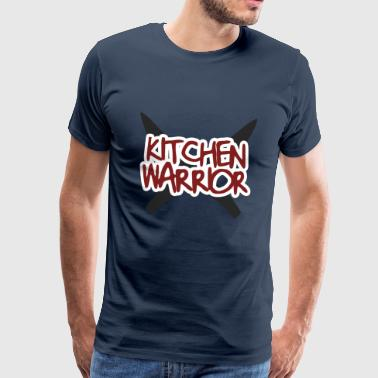 Cooking Chef / Chef Cook: Kitchen Warrior - Men's Premium T-Shirt