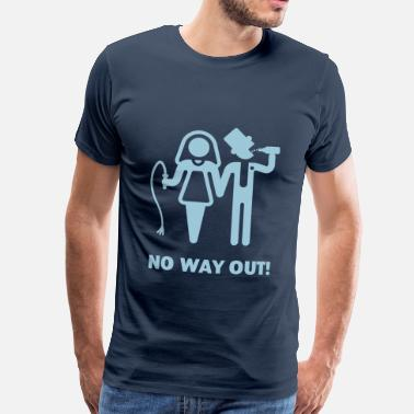 Cool Whip No Way Out! (Whip and Beer) - Men's Premium T-Shirt
