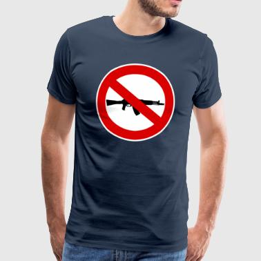 Signe armes d'interdiction - T-shirt Premium Homme