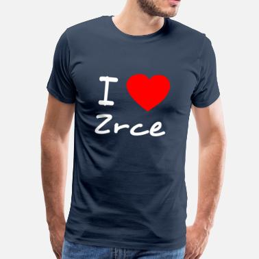 Zrce I love Zrce - Men's Premium T-Shirt