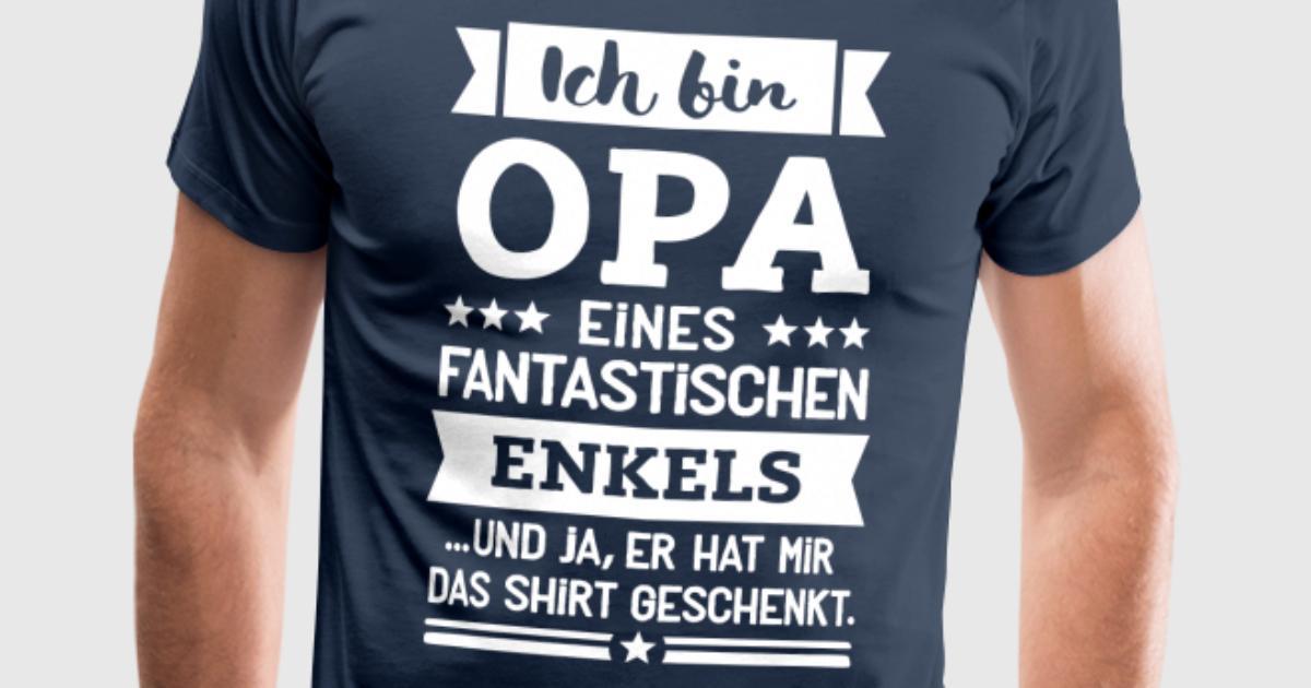 Opa und super Enkel von SpruchGigant | Spreadshirt