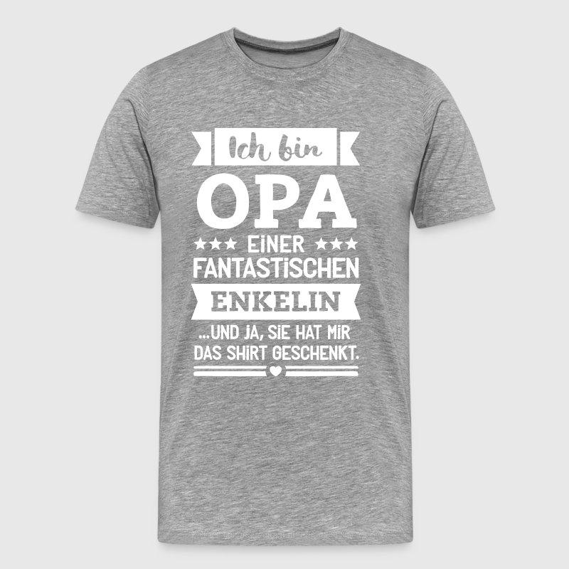 Opa und super Enkelin von SpruchGigant | Spreadshirt