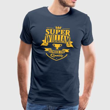 Super William - T-shirt Premium Homme