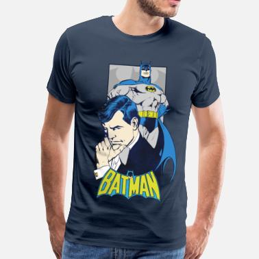 Batman DC Comics Originals Batman Bruce Wayne Rétro - T-shirt Premium Homme