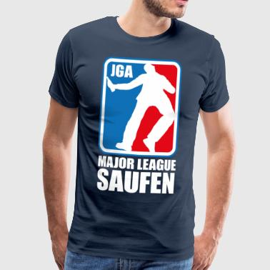 Major League Saufen JGA - Männer Premium T-Shirt