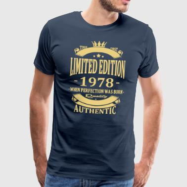 Limited Edition 1978 - Männer Premium T-Shirt