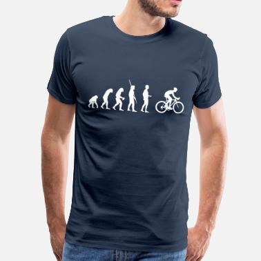 Vélo Evolution Racing - T-shirt Premium Homme