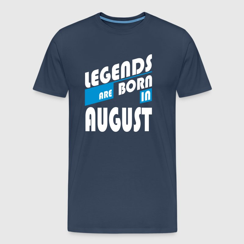 Legends of August - Männer Premium T-Shirt