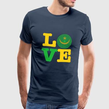 MAURITANIA HEART - Men's Premium T-Shirt