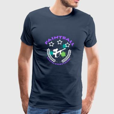 Paintball, Gotcha, - Men's Premium T-Shirt