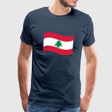 Lebanon - Men's Premium T-Shirt