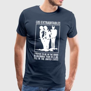 Los Extraditables (eng dark) - Men's Premium T-Shirt