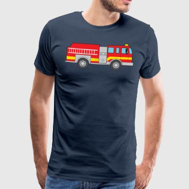Fire Truck - Men's Premium T-Shirt