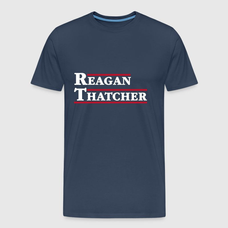 Reagan & Thatcher - Men's Premium T-Shirt