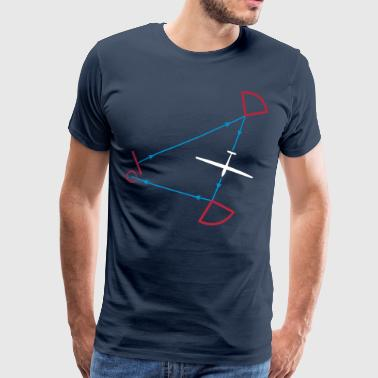 glider competition - T-shirt Premium Homme