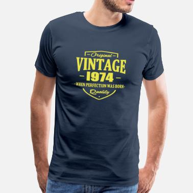 Born In 1974 Vintage 1974 - Men's Premium T-Shirt