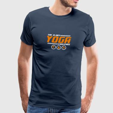 YOGA CHALLENGE - Men's Premium T-Shirt