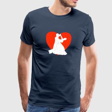 Fox Silhouette Slow Fox - Männer Premium T-Shirt