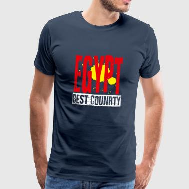 Pyramid Egypt best country - Men's Premium T-Shirt