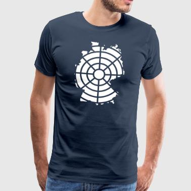 Germany in the crosshairs - Men's Premium T-Shirt