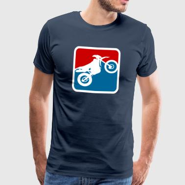 Enduro Cross League - Camiseta premium hombre