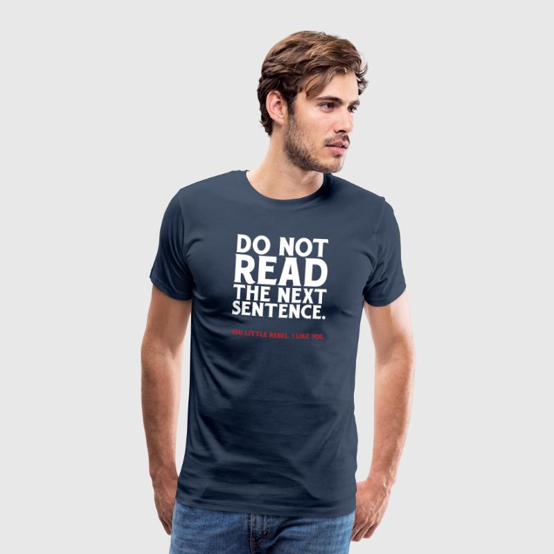 Funny funny Rebel - Mannen Premium T-shirt