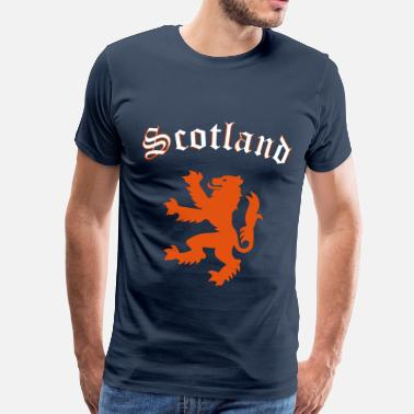 Scotland Sport Lion of Scotland - Men's Premium T-Shirt
