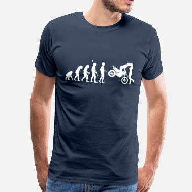 Enduro Riders Evolution Enduro kiss - Men's Premium T-Shirt