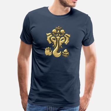 God Hinduism Tantra Ganesha - Elephant God - Hinduism, Tantra  - Men's Premium T-Shirt
