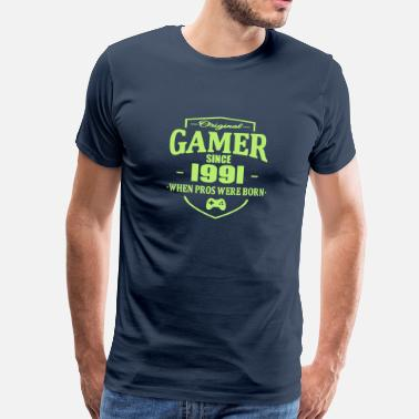 1991 Gamer Since 1991 - Mannen Premium T-shirt