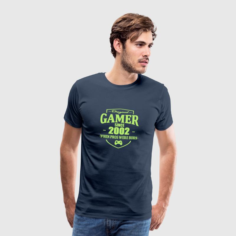 Gamer Since 2002 - Premium-T-shirt herr