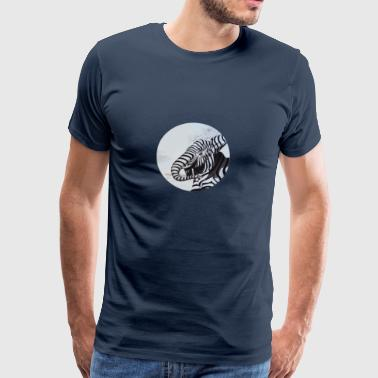Elephant zebra - Men's Premium T-Shirt