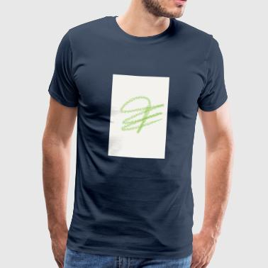 label - Mannen Premium T-shirt