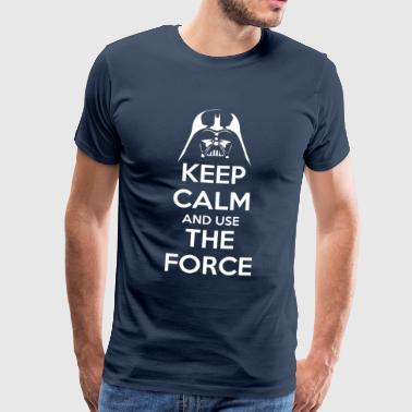 Use the Force - T-shirt Premium Homme