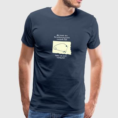 sense of direction - Men's Premium T-Shirt
