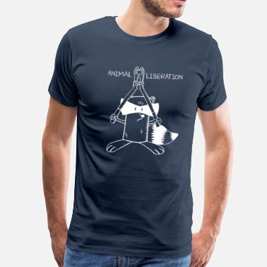 Animal Liberation Front Animal-Liberation - Männer Premium T-Shirt