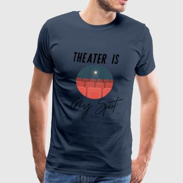 Actrice Theater Sport Drama Acting Coach, Acteurs, Actrices - Mannen Premium T-shirt