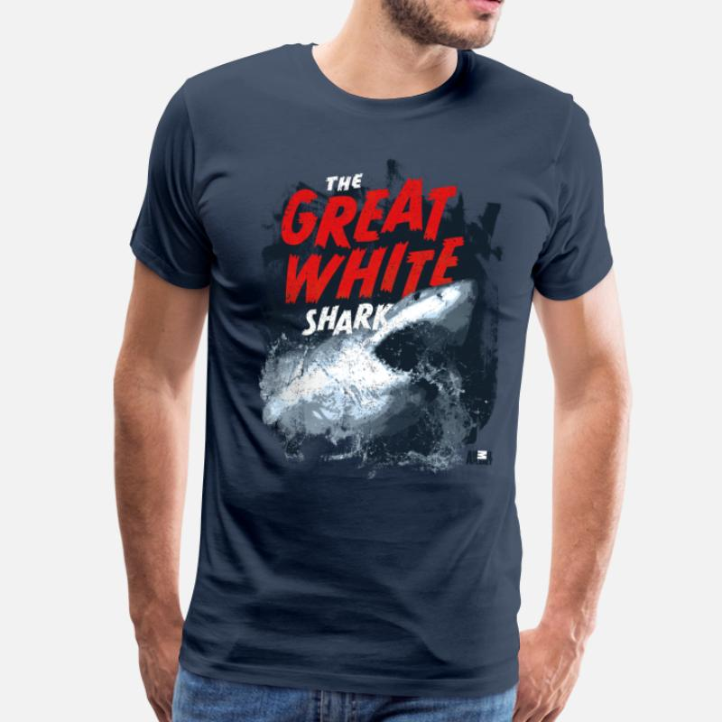 180d9a28 Shop Great White Shark T-Shirts online | Spreadshirt