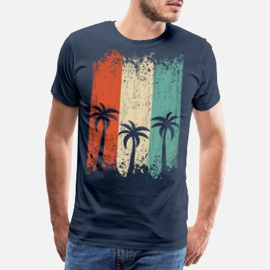 Party De tre palmerna - Premium T-shirt herr