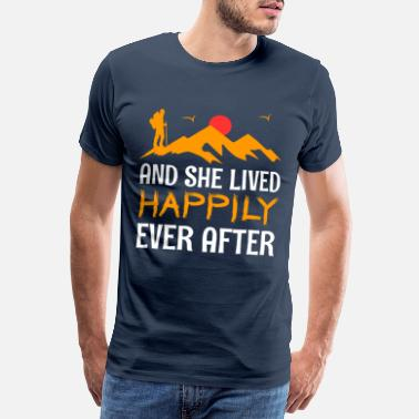 Lüstern And she lived happily ever after - Männer Premium T-Shirt