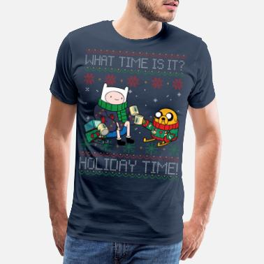 Adventure Time What Time Is It? Holiday Time! - Männer Premium T-Shirt
