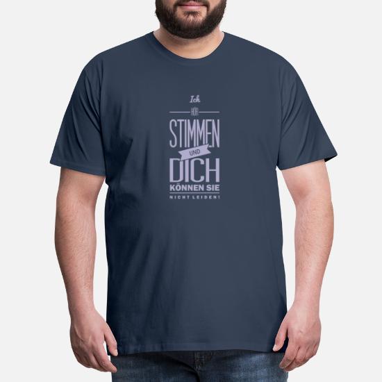 Herren T-Shirt Ich hör stimmen .. I Lustig I Sprüche I Fun I    bis 5XL