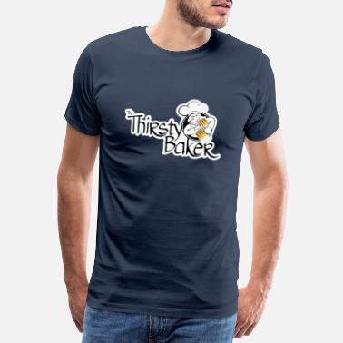 Nuremberg The Thirsty Baker logo - Men's Premium T-Shirt