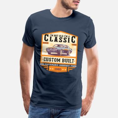 Classic Car Klassiek sinds 1980 - Mannen Premium T-shirt