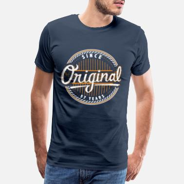 57 Jahre Alt Original since 57 years - Birthday Shirt - Männer Premium T-Shirt