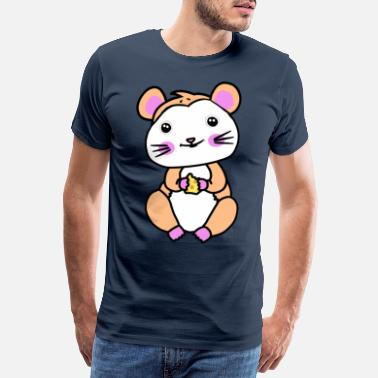 Rodent Hamster rodent fantasy children hunger - Men's Premium T-Shirt